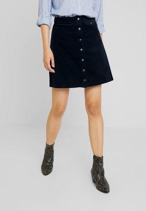 Minijupe - navy blazer
