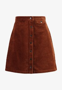 Vila - Mini skirt - toffee - 3