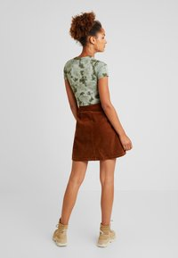 Vila - Mini skirt - toffee - 2