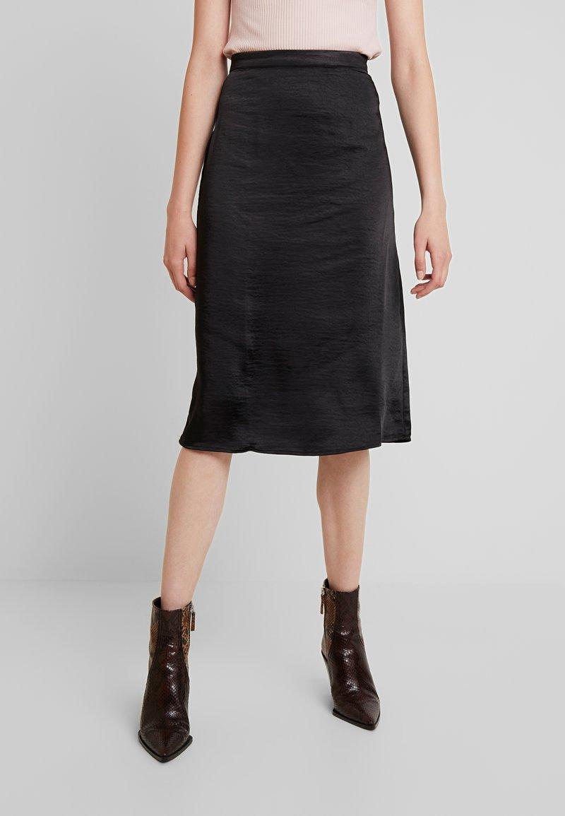 Vila - Pencil skirt - black