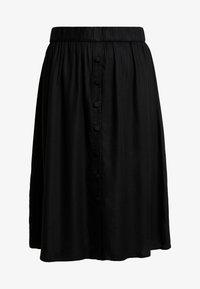 Vila - Áčková sukně - black - 3