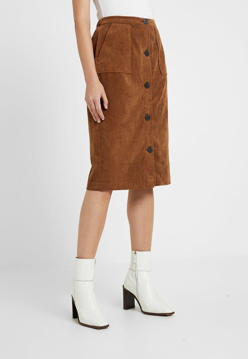 Vila - Mini skirt - toffee