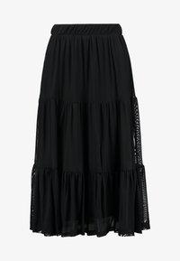 Vila - VIDAVIS SKIRT - A-snit nederdel/ A-formede nederdele - black - 3