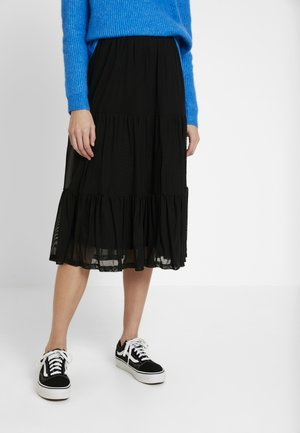 VIDAVIS SKIRT - A-Linien-Rock - black