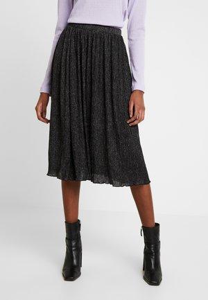 Blyantnederdel / pencil skirts - black/silver