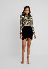 Vila - Mini skirt - black - 1