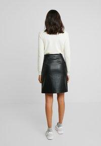 Vila - Mini skirt - black - 2