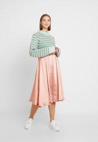 Vila - VITIANA SKIRT - A-line skirt - rose tan - 1