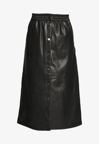 Vila - VIPULLA MIDI SKIRT - Pencil skirt - black - 3
