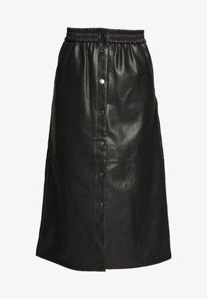 VIPULLA MIDI SKIRT - Falda de tubo - black