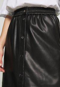 Vila - VIPULLA MIDI SKIRT - Pencil skirt - black - 4
