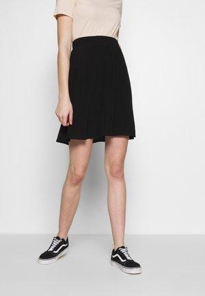 VIPRIMERA  - A-line skirt - black