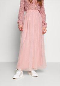 Vila - VIZAMARA  - Plisovaná sukně - pale mauve - 0