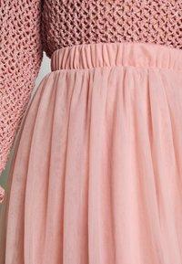Vila - VIZAMARA  - Plisovaná sukně - pale mauve - 4