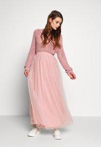 Vila - VIZAMARA  - Plisovaná sukně - pale mauve - 1