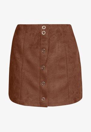 VIJAKY SHORT - A-line skirt - rawhide