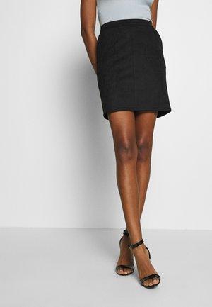 VIFADDY SKIR - Jupe trapèze - black