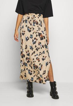VICAVA LIOAN SKIRT - Maxi skirt - beige