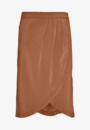 VINAHLA SKIRT - Áčková sukně - rawhide