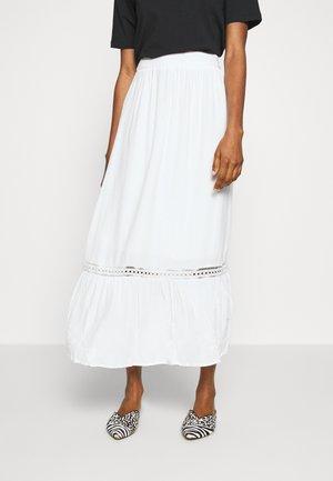 VIJESSAS ANCLE SKIRT - Maxi sukně - off white