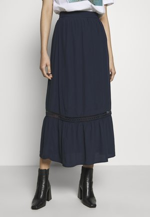 VIJESSAS ANCLE SKIRT - Maxirok - navy