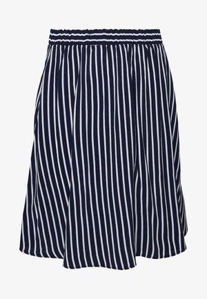 VIPRIMERA SKIRT FAV LUX - A-line skirt - navy blazer/snow white stribe
