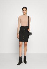 VILA PETITE - VICONIA PENCIL SKIRT - Pencil skirt - black - 1