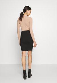 VILA PETITE - VICONIA PENCIL SKIRT - Pencil skirt - black - 2
