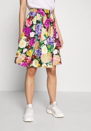 VIFLORANA SKIRT - A-line skirt - black