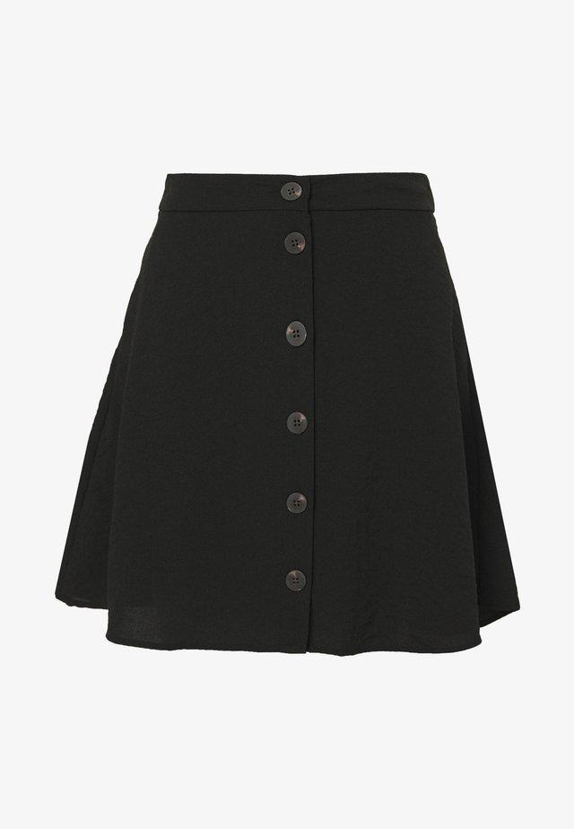VILINEA SKIRT - A-linjekjol - black
