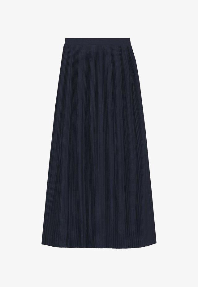 VIPLISS  - Veckad kjol - navy blazer