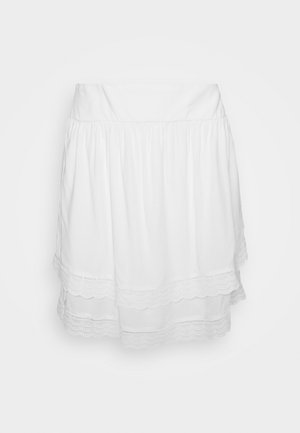 VIMOLUNA SKIRT - Minirok - snow white