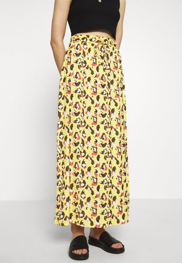 VICAVACAMOLI SKIRT - Maxi skirt - samoan sun