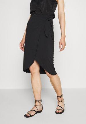 VIJANSANE SKIRT - A-line skirt - black
