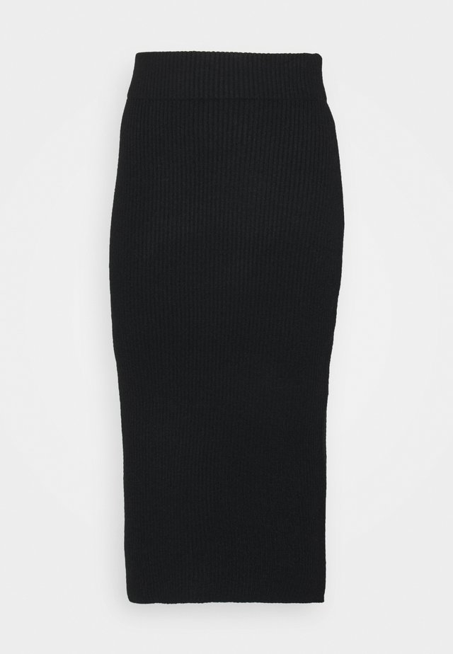 VIRIL PENCIL SKIRT - Pennkjol - black