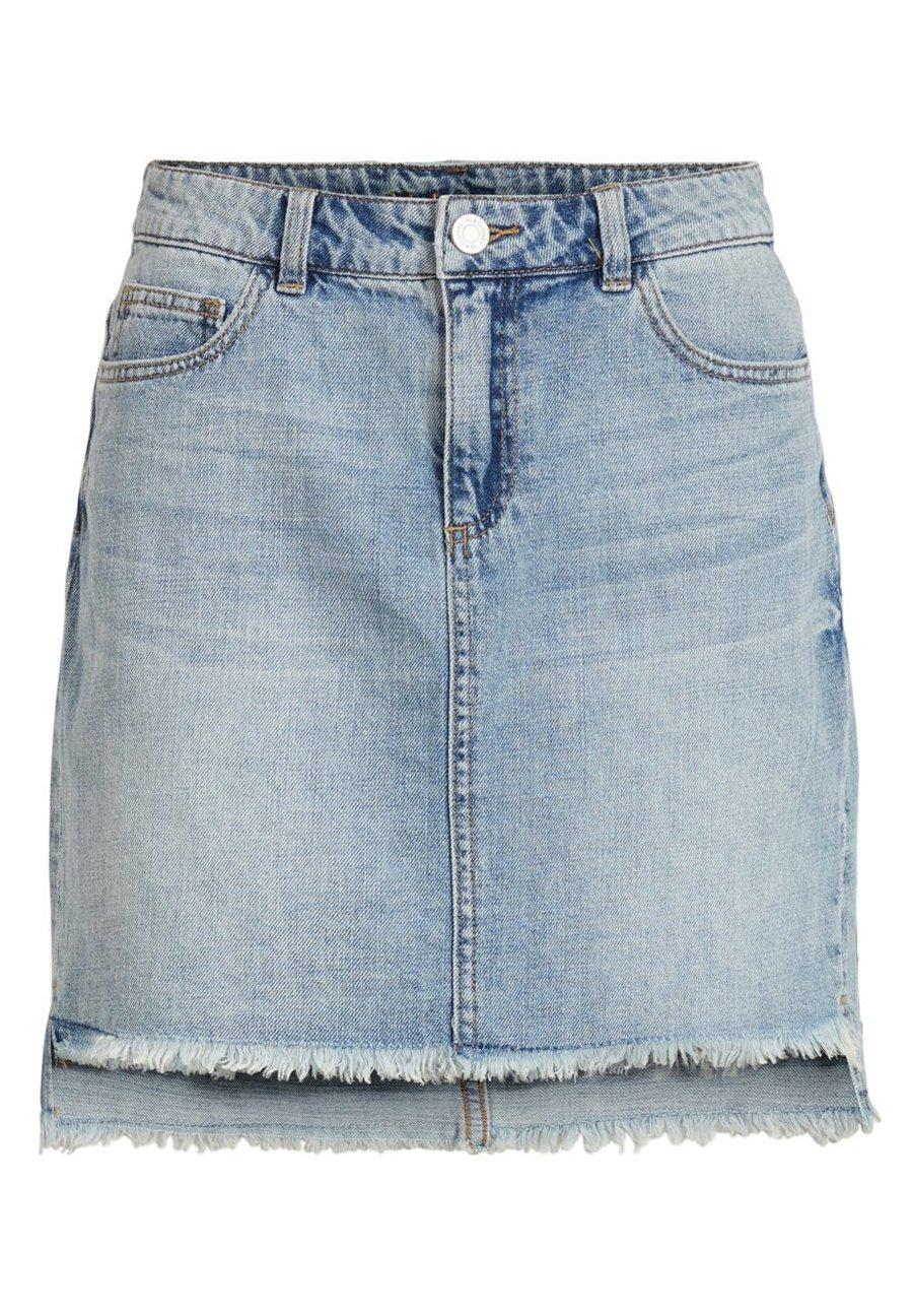 Jupe en jean light blue denim