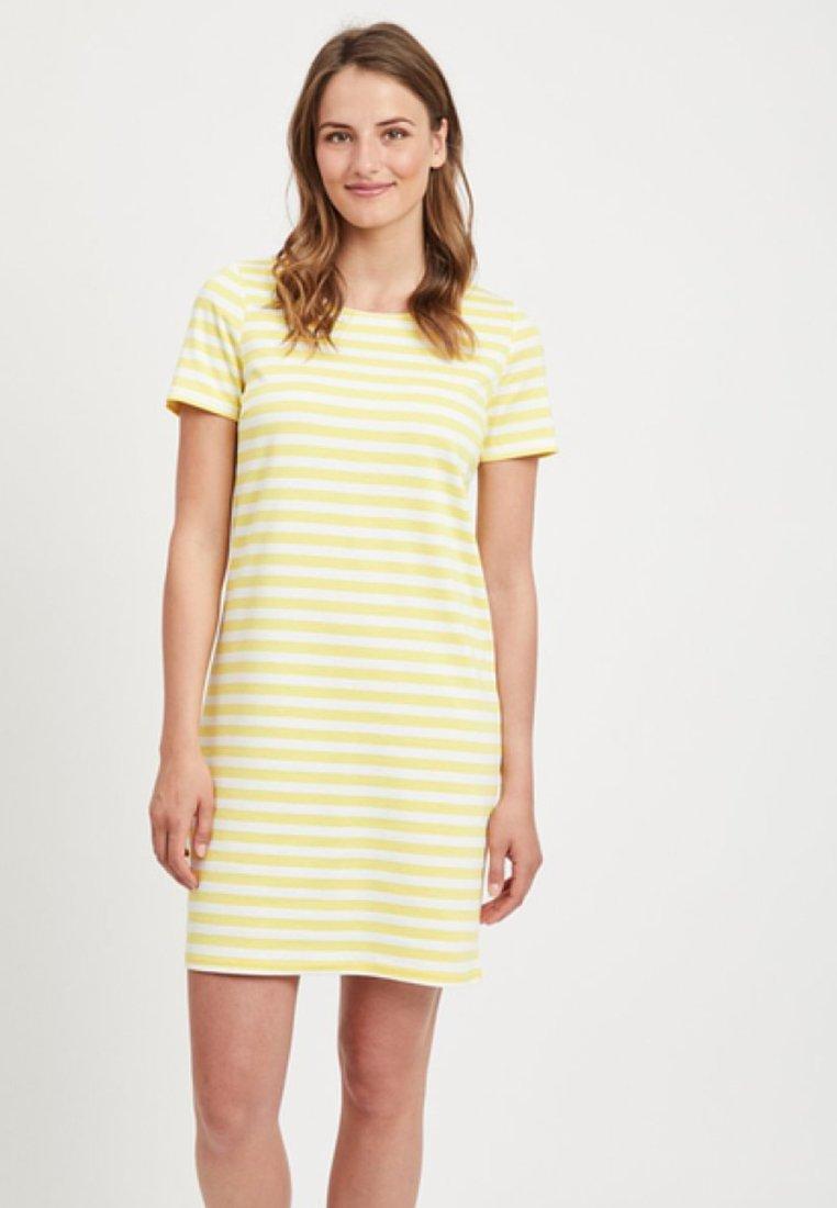 Vila - VITINNY  - Jerseykleid - light yellow