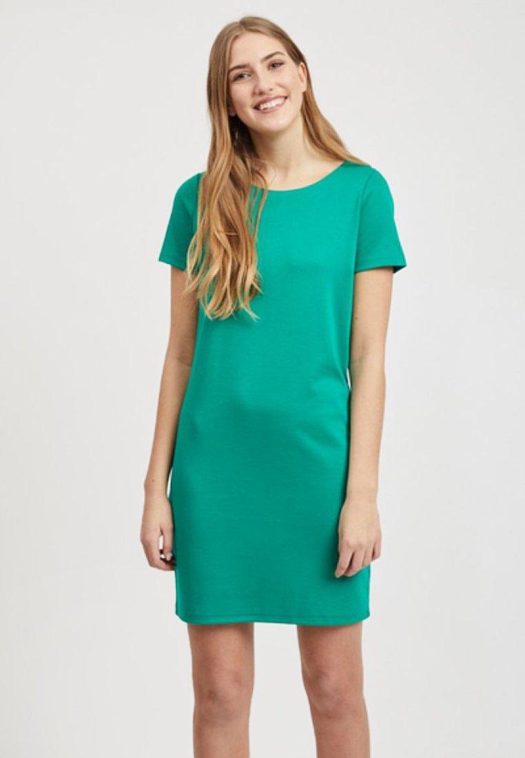 Vila - VITINNY  - Jerseykleid - pepper green