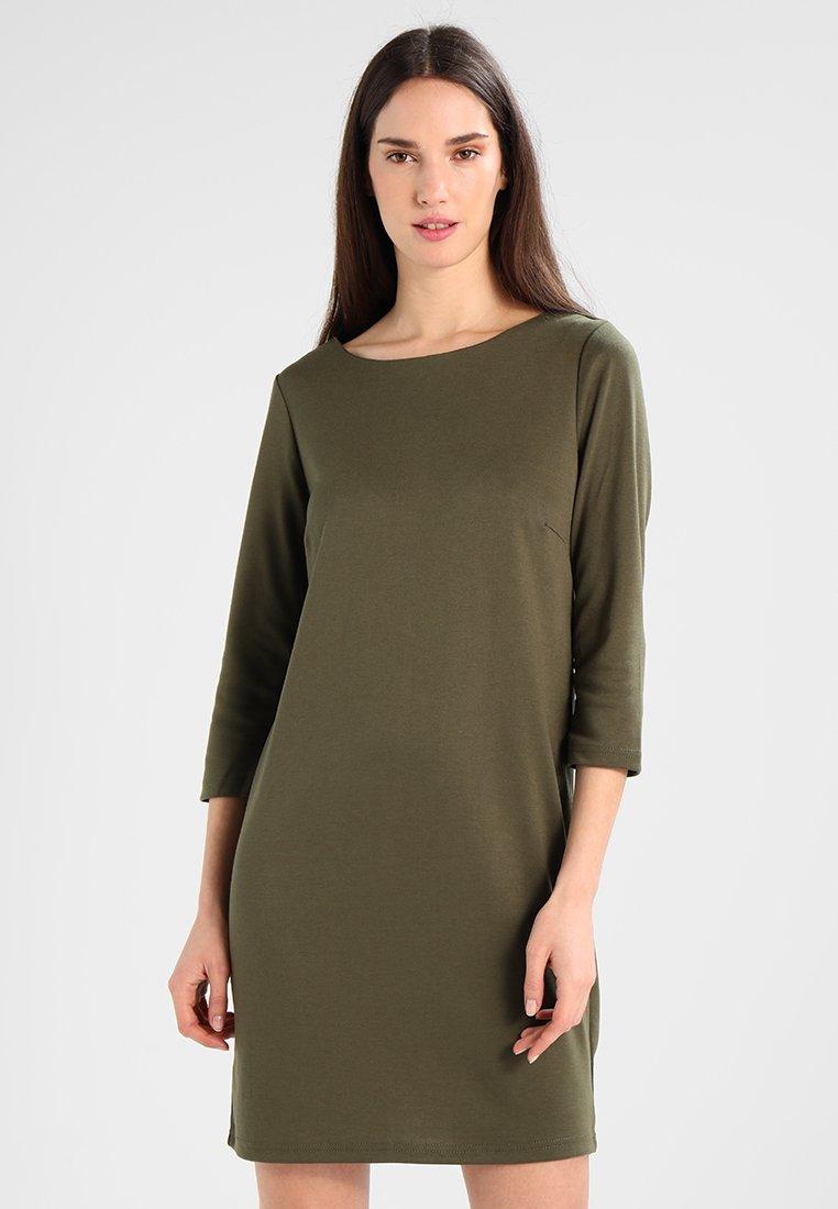 Vila - VITINNY NEW DRESS - Jerseyjurk - ivy green