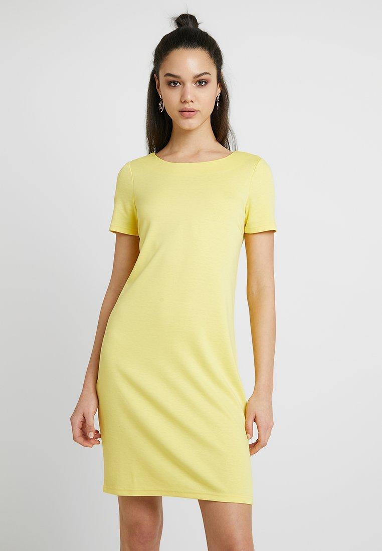 Vila - VITINNY NEW DRESS - Jerseyjurk - goldfinch