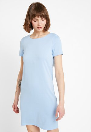 Korte jurk - powder blue