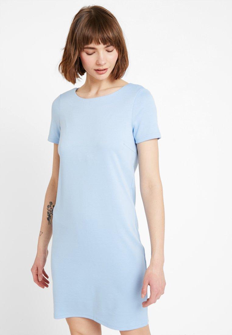 Vila - VITINNY NEW DRESS - Jerseykleid - powder blue