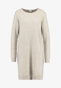 Vila - VIRIL DRESS - Pletené šaty - natural melange - 3