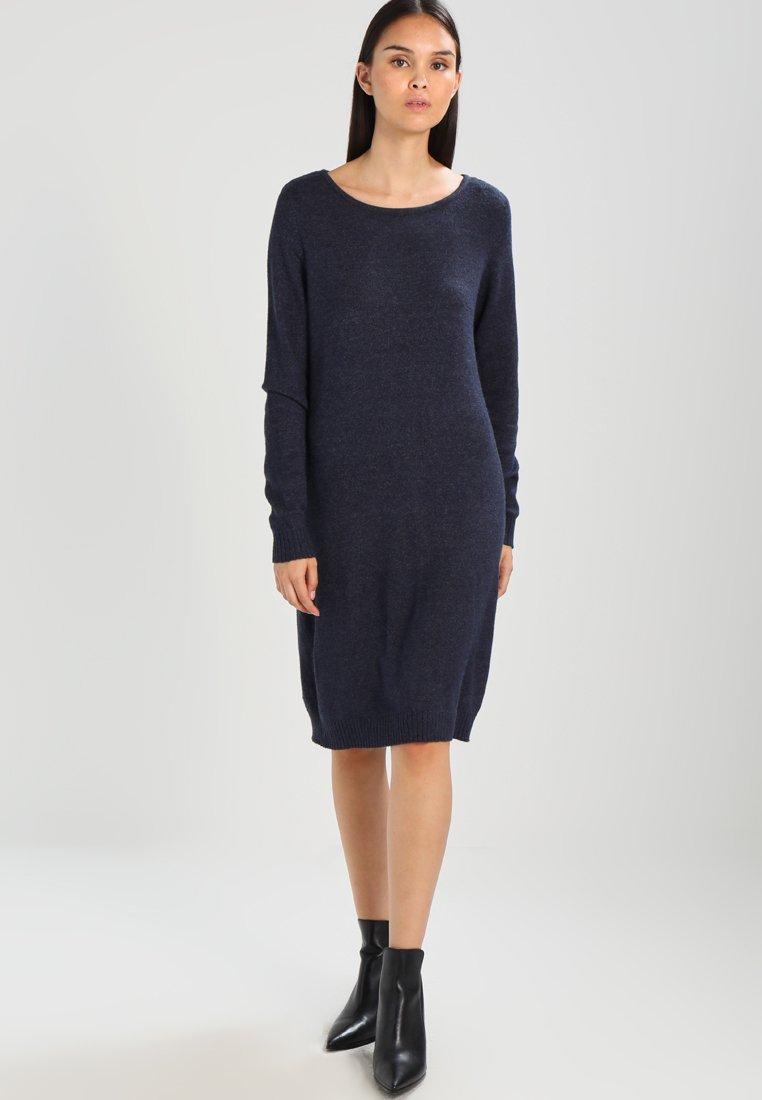 Vila - VIRIL DRESS - Pletené šaty - total eclipse/melange