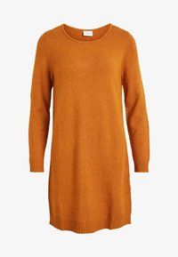 Vila - Jumper dress - cathay spice - 4