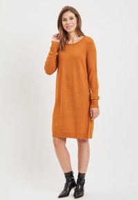 Vila - Jumper dress - cathay spice - 1
