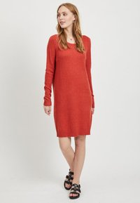 Vila - Jumper dress - red - 1