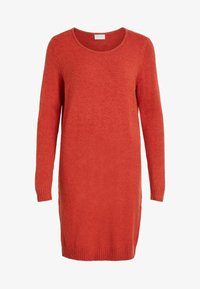 Vila - Jumper dress - red - 4