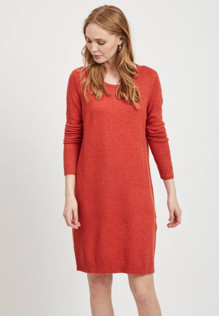 Vila - Jumper dress - red
