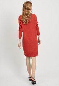 Vila - Jumper dress - red - 2